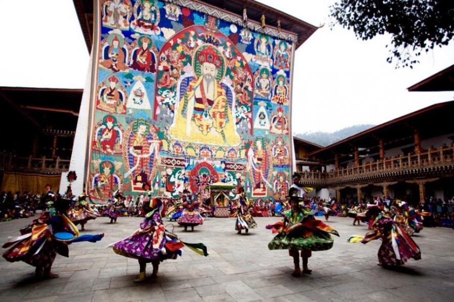 ブータンパロツェチュお祭りツアー