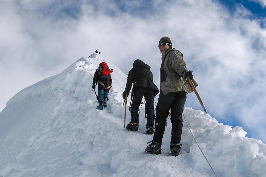エベレスト アイランド・ピーククライミング