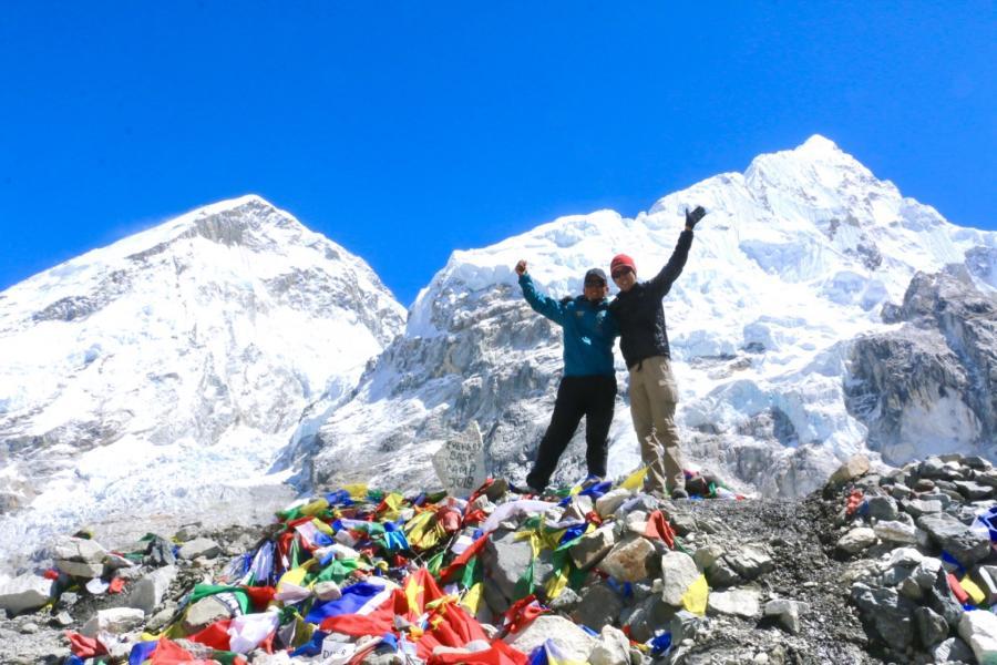 エベレストベースキャンプトレッキング